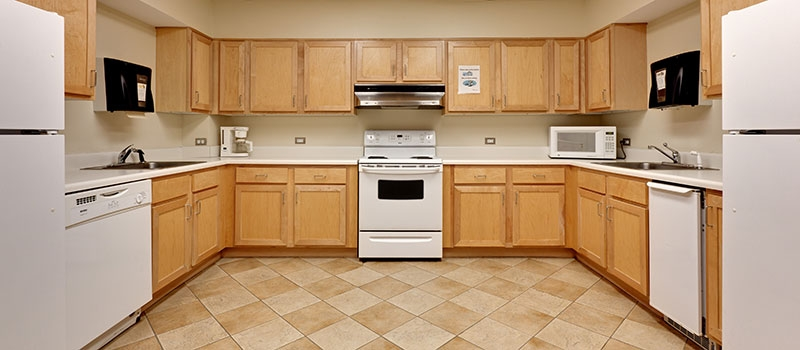 Activity Room Kitchen for Tenth and Home E